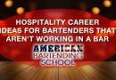 bartender careers